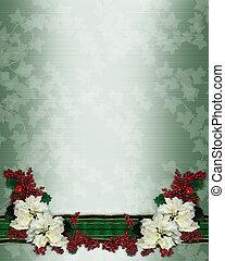 一品紅, 聖誕節, 花卉疆界
