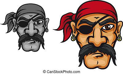 上尉, 老, 海盜
