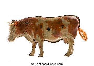 上發條, 錫, 母牛