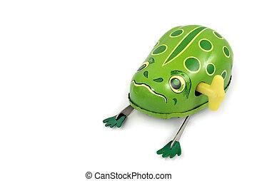 上發條, 青蛙
