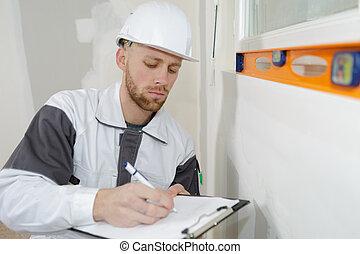 下來, 建造者, 建設, 結果, 寫