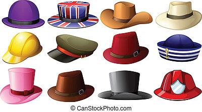 不同, 帽子, 設計