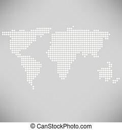 世界地圖, 摘要, 加點