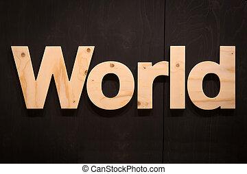 世界, 木頭, 類型