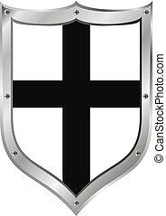 中世紀, 盾, teutonic, 預訂