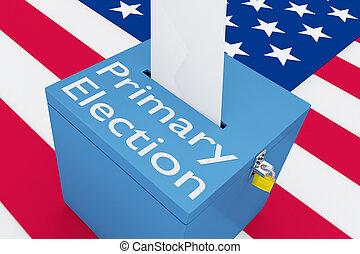 主要, 概念, 選舉