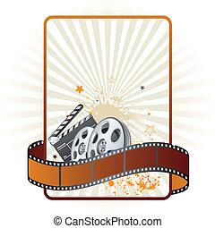 主題, 電影, 電影, 剝去, 元素
