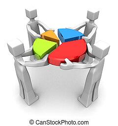 事務, 配合, 成就, 表現, 概念