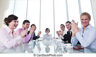 人們, 會議, 組, 事務