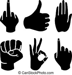 人類, 彙整, 手