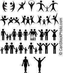 人類, 符號