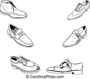 人, 鞋子, 第一流