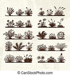你, 植物, 架子, 略述, 設計