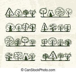 你, 樹, 架子, 略述, 設計
