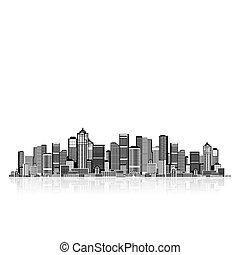 你, 背景, 藝術, 都市風景, 城市的設計