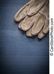 保護, copyspace, 圖像, 木頭, 手套, 板