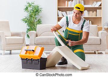 修理, 家庭工作者, 家具