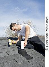修理, 屋頂