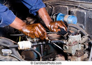修理, 技工, 車輛