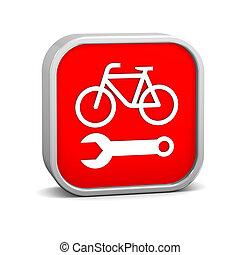 修理, 自行車, 簽署