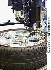 修理, 輪胎