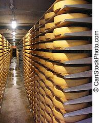 倉庫, 乳酪