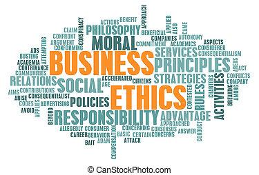 倫理學, 事務