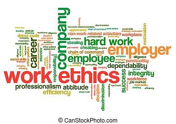倫理學, 工作