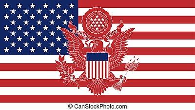 偉大, 美國, 封印