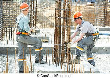 做, 工人, 建設, 增強