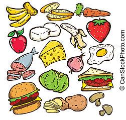 健康的食物, 版本, 顏色