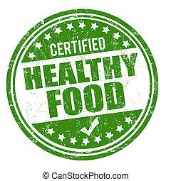 健康的食物, 郵票