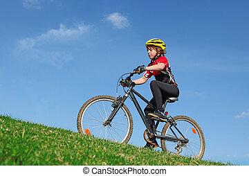 健康, 擺脫自行車, 适合, 孩子