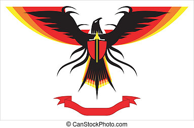 傳播, 鷹, 獵鷹, 翅膀