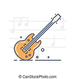 儀器, 音樂, 圖象