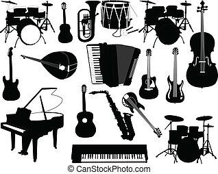 儀器, 音樂, 彙整