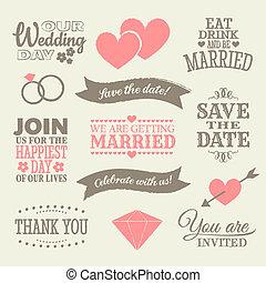 元素, 設計, 婚禮