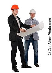 充滿信心, 建築師, 二, 合伙人