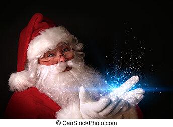 光, 手, 不可思議, 聖誕老人, 藏品