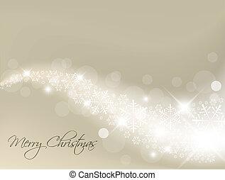 光, 摘要, 銀, 背景, 聖誕節
