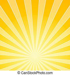 光, 明亮, 黃色, 梁