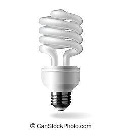 光, 能量, 保留, 燈泡