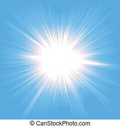 光, starburst, 天堂
