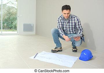 內部, 建設, 監督人, 站點, 檢查