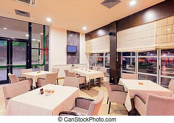 內部, 餐館