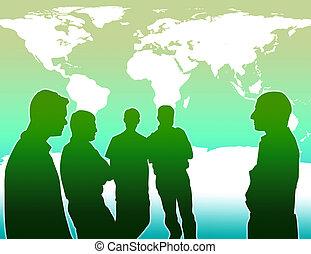 全球, 防止, 工作, 變暖和, 隊
