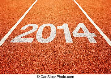 全部, 軌道, 跑, 天氣, 2014, 体育運動