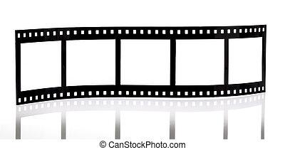 剝去, 背景, 電影, 被隔离, 白色