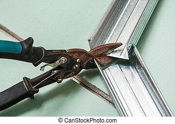 剪刀, 金屬