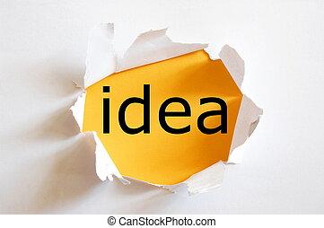 創造性, 想法